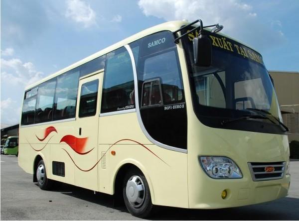 Cho thuê xe du lịch 29 chỗ tại Hà Nội