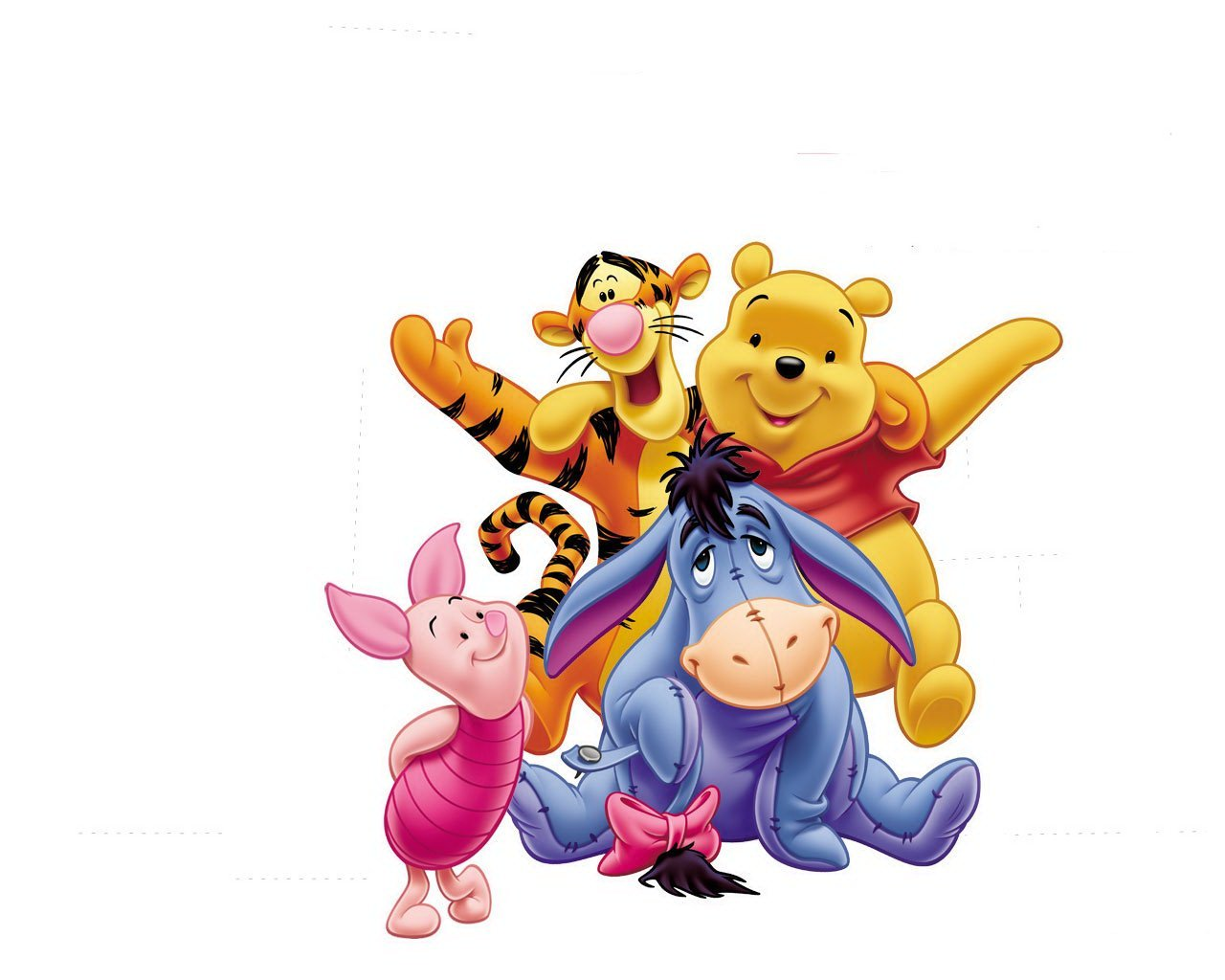 Winnie the Pooh and Gang