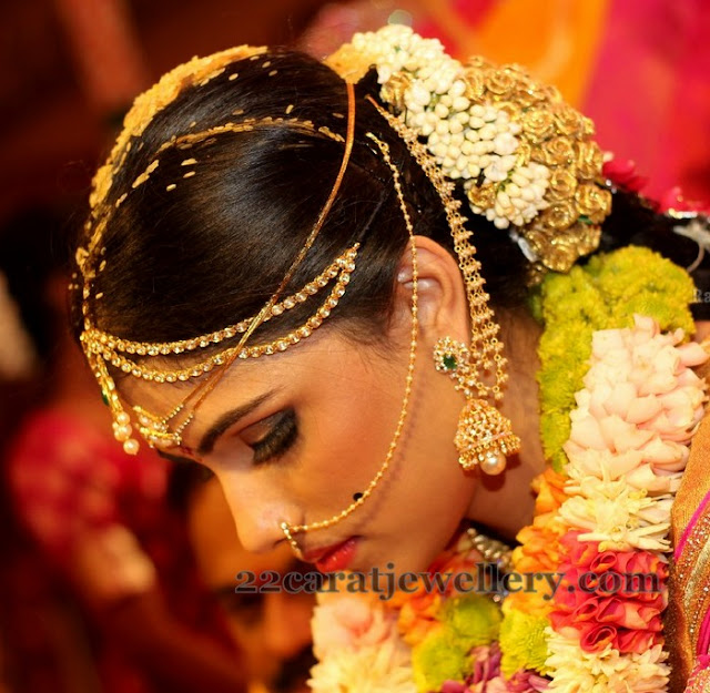 Bride Shalini Diamond Wedding Jewelry