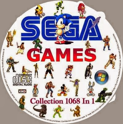 Sega Games Collection 1068 in 1 (1992-1995/Multi2) Full İndir