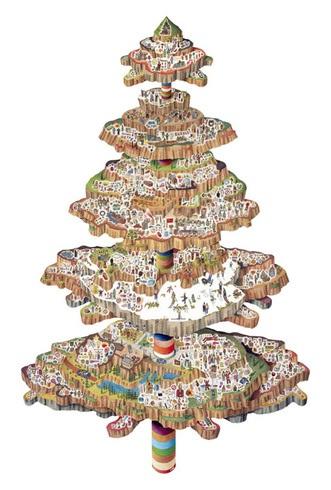Decora y disena 7 rboles de navidad dise o art stico - Diseno de arboles de navidad ...