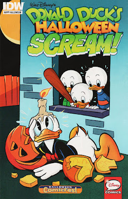 Donald Ducks's Halloween Scream! from IDW, Halloween ComicFest