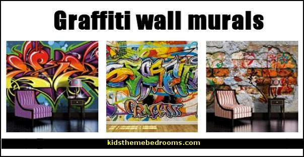 Cool Graffiti Wall Wallpaper Murals