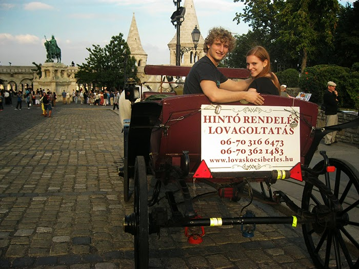 Budapest Boedapest horse carriage ride paardenkoets