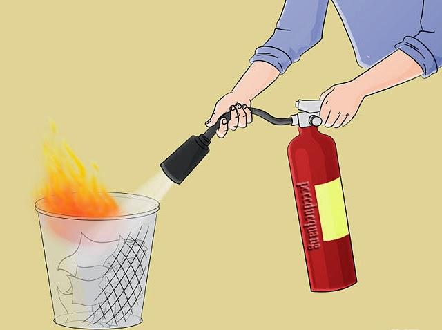 Làm thế nào để sử dụng bình chữa cháy 3