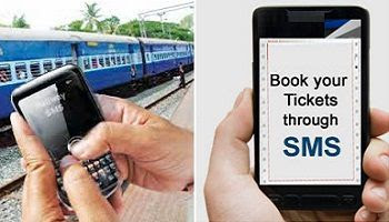 How to Book Train Ticket using Mobile SMS instead of IRCTC?