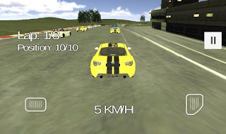 Screenshots of the Extreme car racing for Android tablet, phone.