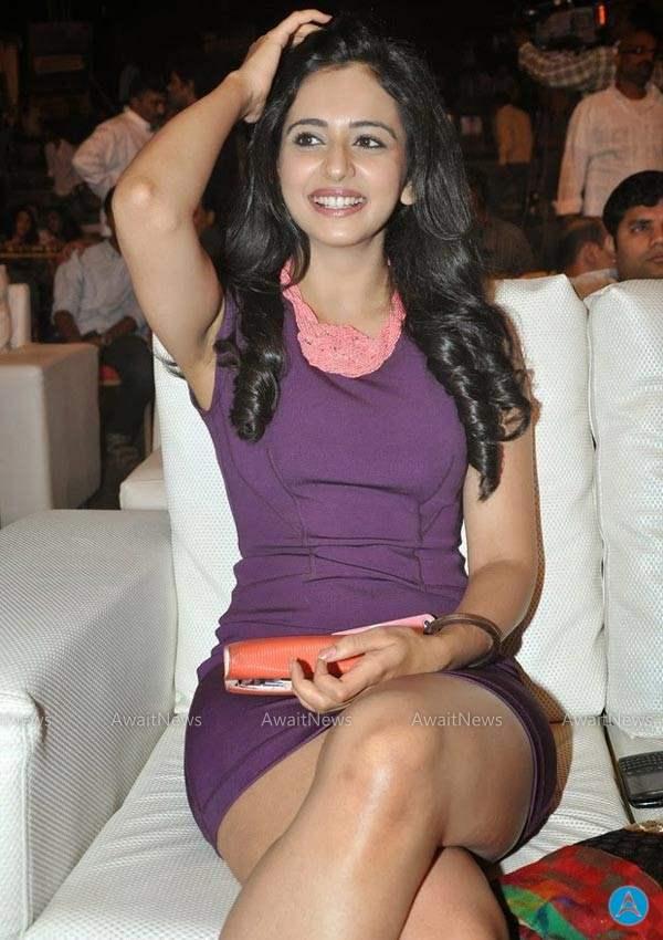 actress celebrities photos: pretty actress rakul preet latest hot