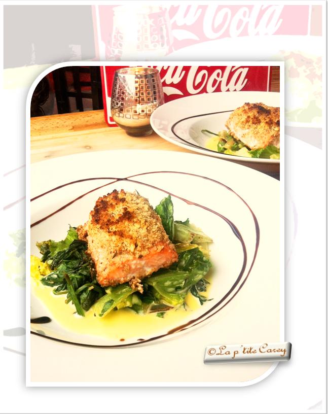 Salade romaine et noix de grenoble vinaigrette d licieuse - Cuisine romaine traditionnelle ...