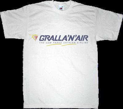 rac1 la competència Mohammed Jordi fun catalonia independence gralla ryanair t-shirt ephemeral-t-shirts