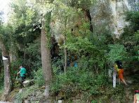 El lloc on s'amaga la Bauma de Vilarjoan