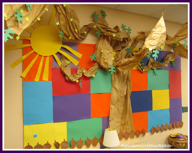 Trees in the Classroom (RoundUP via RainbowsWIthinReach)