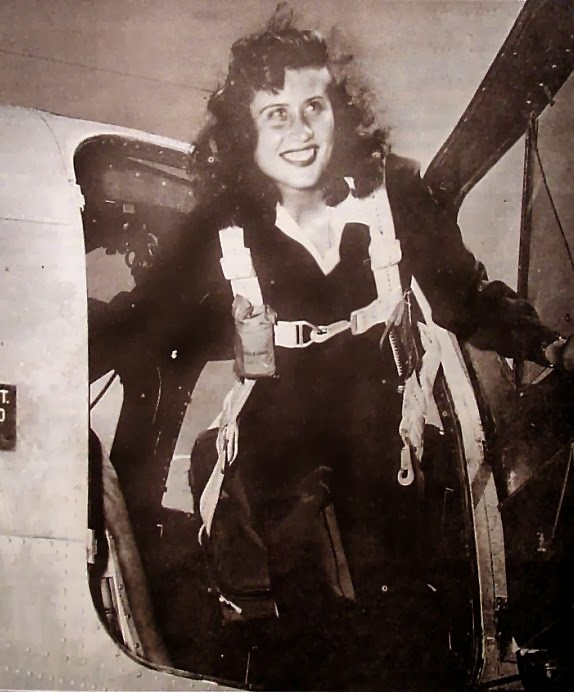 WWII femal pilots wasp