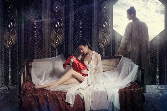 01 Người đẹp phim sex 3D Tân Kim Bình Mai tung ảnh nóng lộ ngực