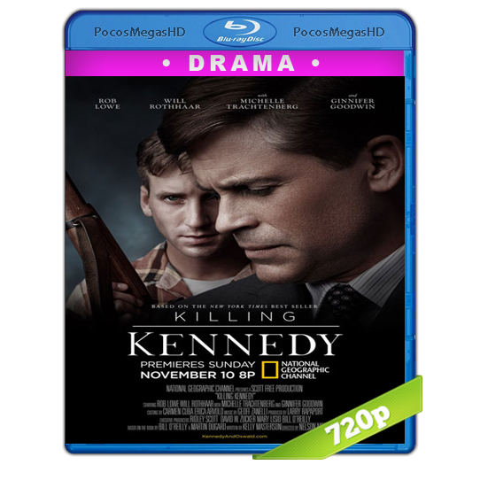 Killing Kennedy(2013) BrRip 720p Inglés AC3+subs‏