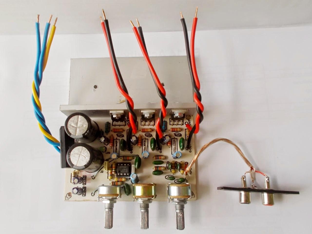 Mengganti jeroan simbadda TDA2030 TDA2050, Oprek simbadda TDA2030 TDA2050, Membuat subwoofer Amplifier TDA2050, Agar Suara Bass Nendang