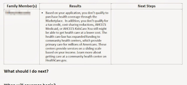 Healthcare.gov: You don't qualify to purchase health ...
