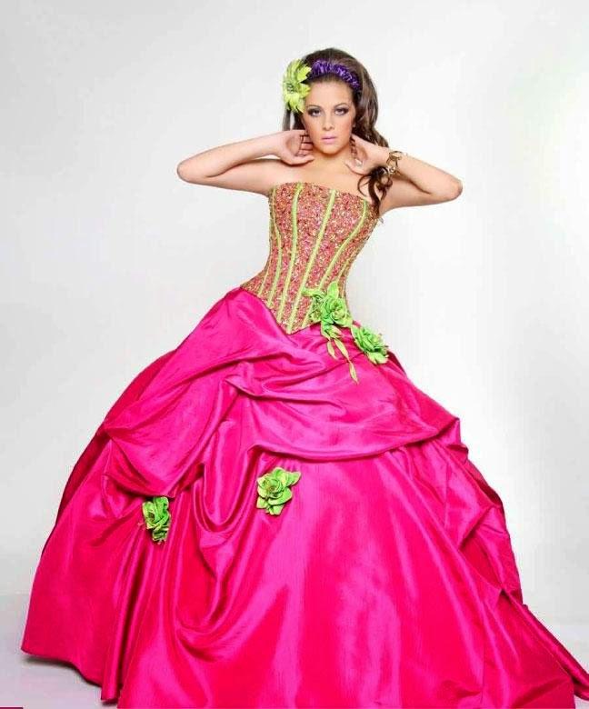 Asombrosos Vestidos de Quinceañeras