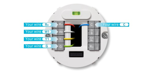 Luxury Nest Thermostat Blue Wire Ensign - Electrical Circuit Diagram ...