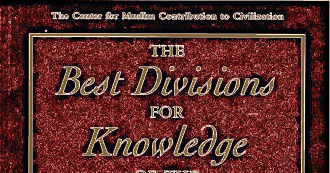 Islamic contributions to civilization pdf download