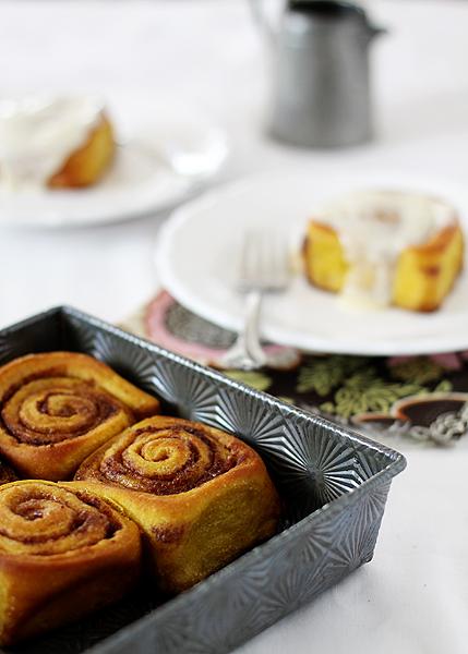 La Cocina de Marta Blay: PUMPKIN CINAMON ROLLS