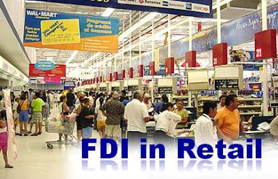 Benefits of FDI in retail in India