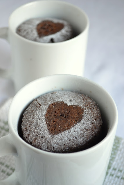 Instant Vanilla Cake In A Mug