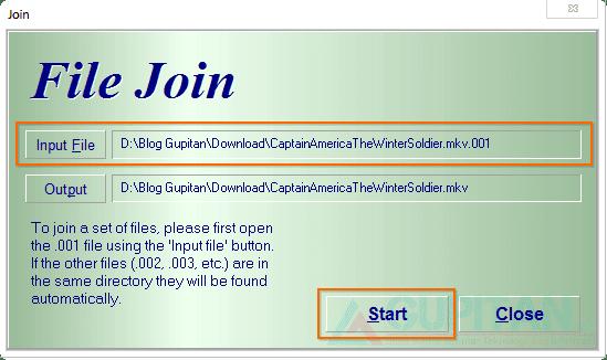 Memecah dan Menggabungkan File dengan Hj-Split