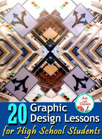 Art and daisies 20 graphic design art lessons for high - Set design lesson plans middle school ...
