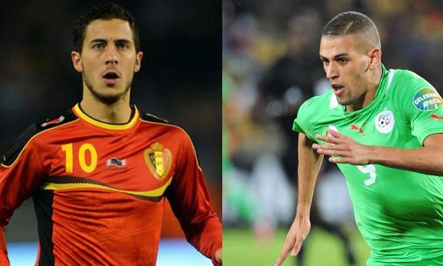 Bélgica-Argelia