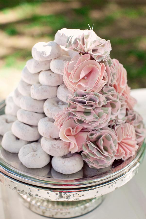 Doughnut wedding cake Weddingbee