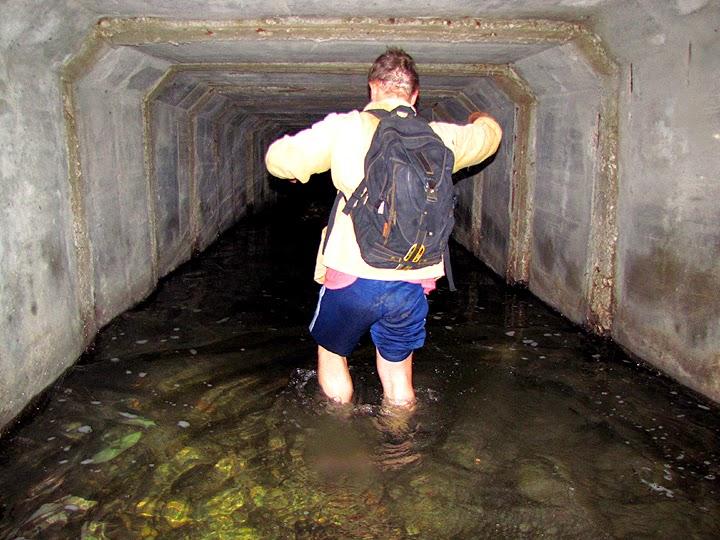 Подземная речка Казанка в Симферополе