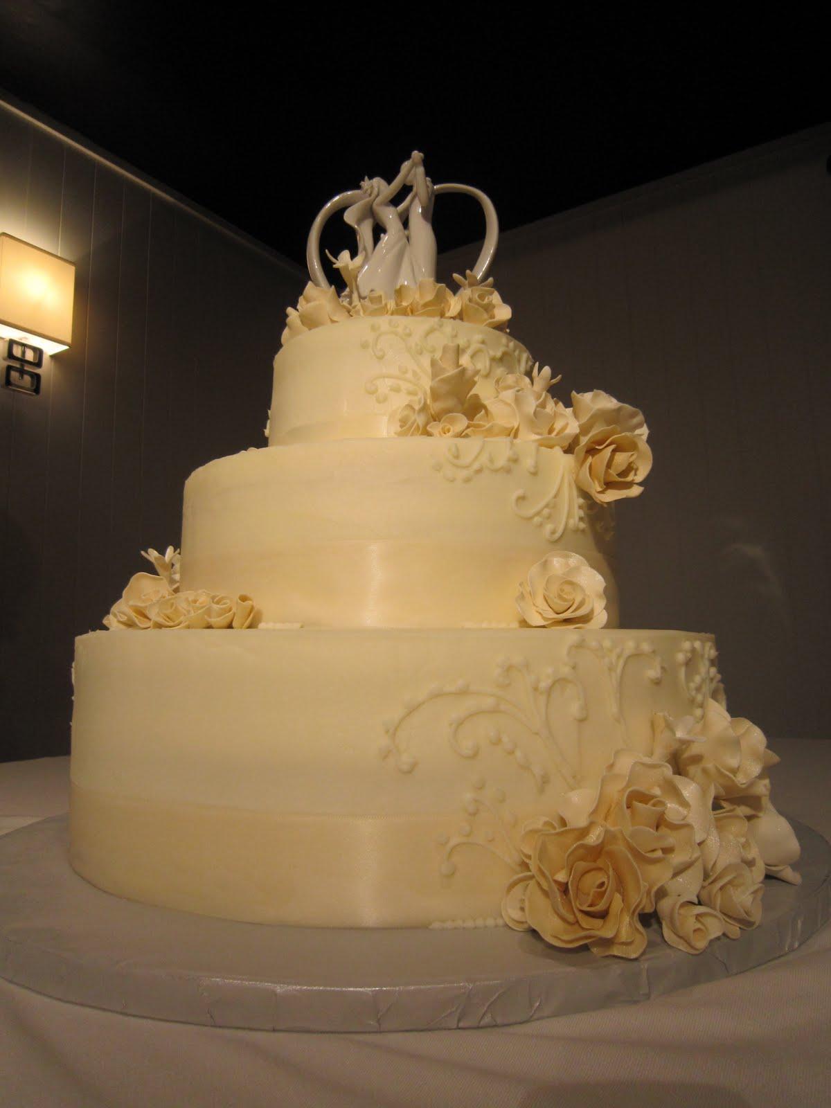 ellen 39 s cakes classic wedding cake. Black Bedroom Furniture Sets. Home Design Ideas