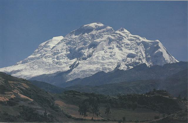 Vista del nevado del Huascarán