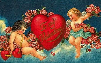 the victorian valentine card
