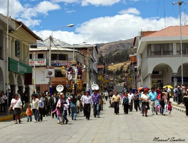 Huaraz, processioni