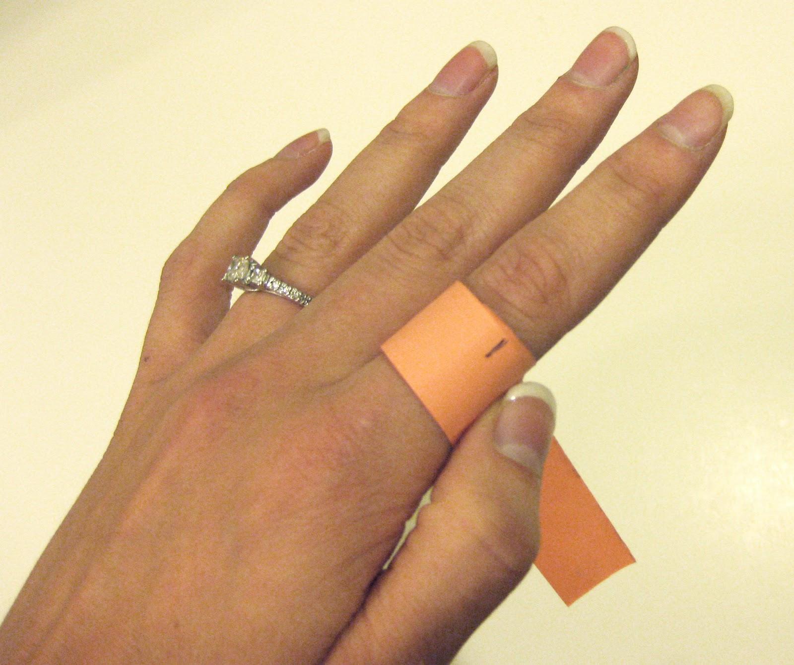 Как сделать кольцо на палец