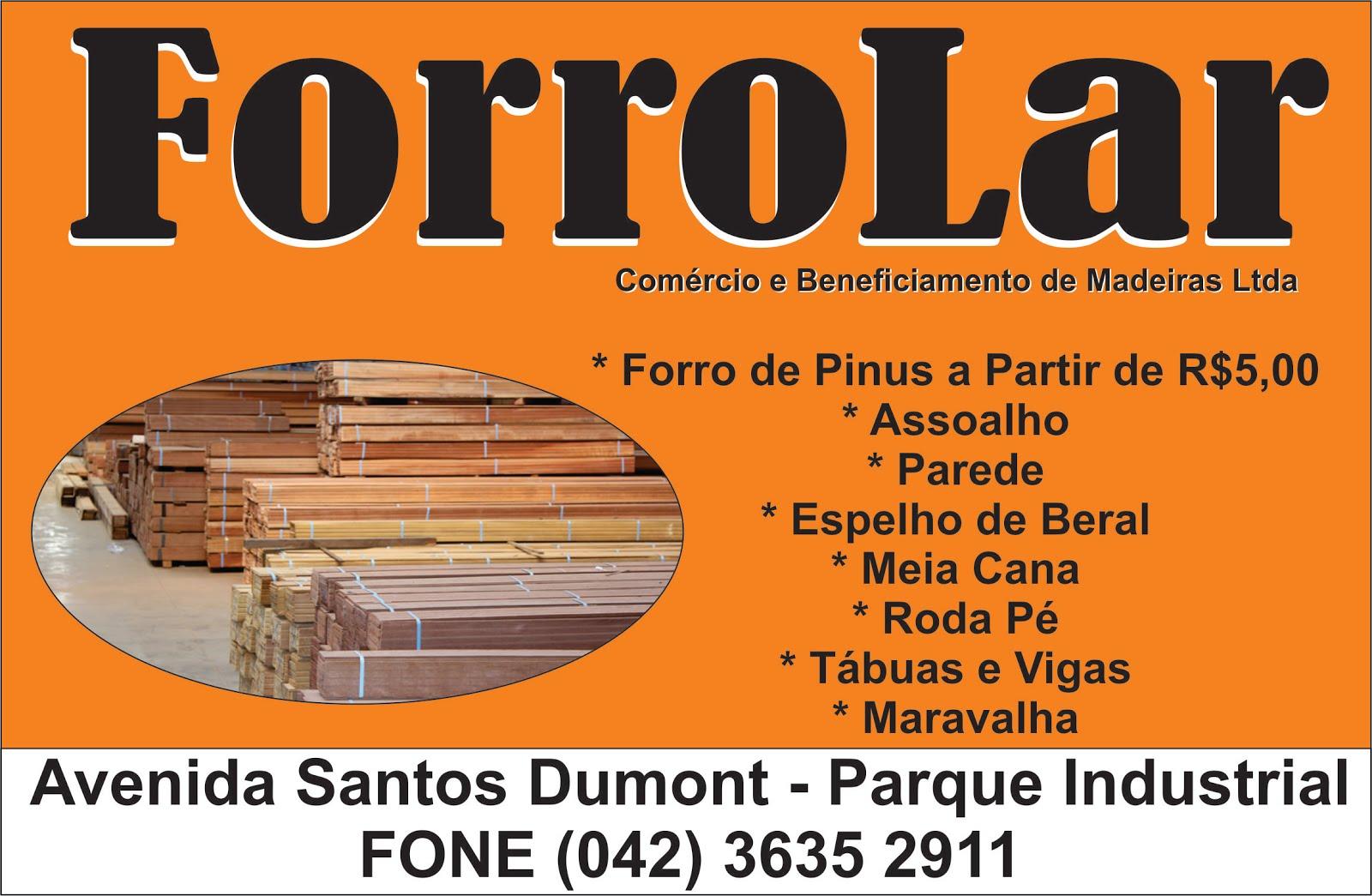 Forrolar comércio e beneficiamento de madeiras LTDA