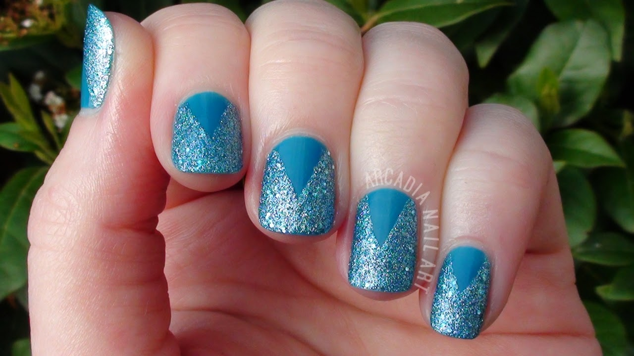 Textured Polish Simple Nail Art Tiffany Case OPI