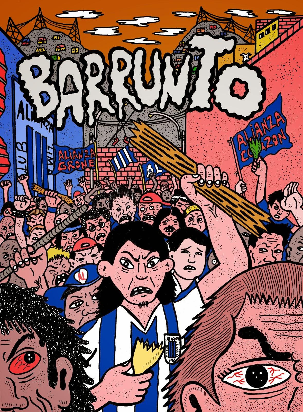 """ESTE 2015 LA NOVELA GRÁFICA """"BARRUNTO"""" DE JUAN JOSE SANDOVAL Y DAVID GALLIQUIO"""