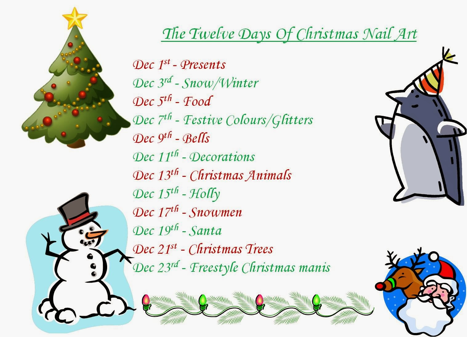 Cute 12 days of christmas gift ideas
