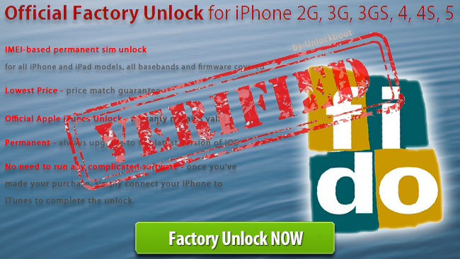 Unlock Fido iPhone 4