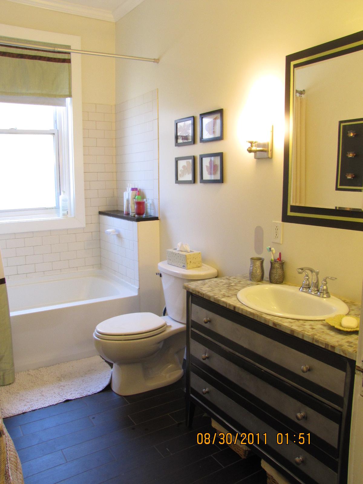 Reposhture Studio Upstairs Bathroom Do Over