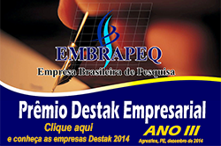 Prêmio Embrapeq 2014 - Agrestina