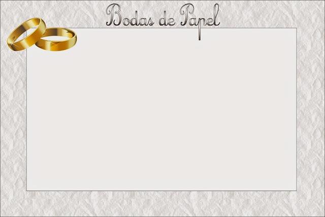Tarjetas de boda para imprimir gratis de boda para imprimir gratis en casabellas with tarjetas - Marcos de plata para bodas ...