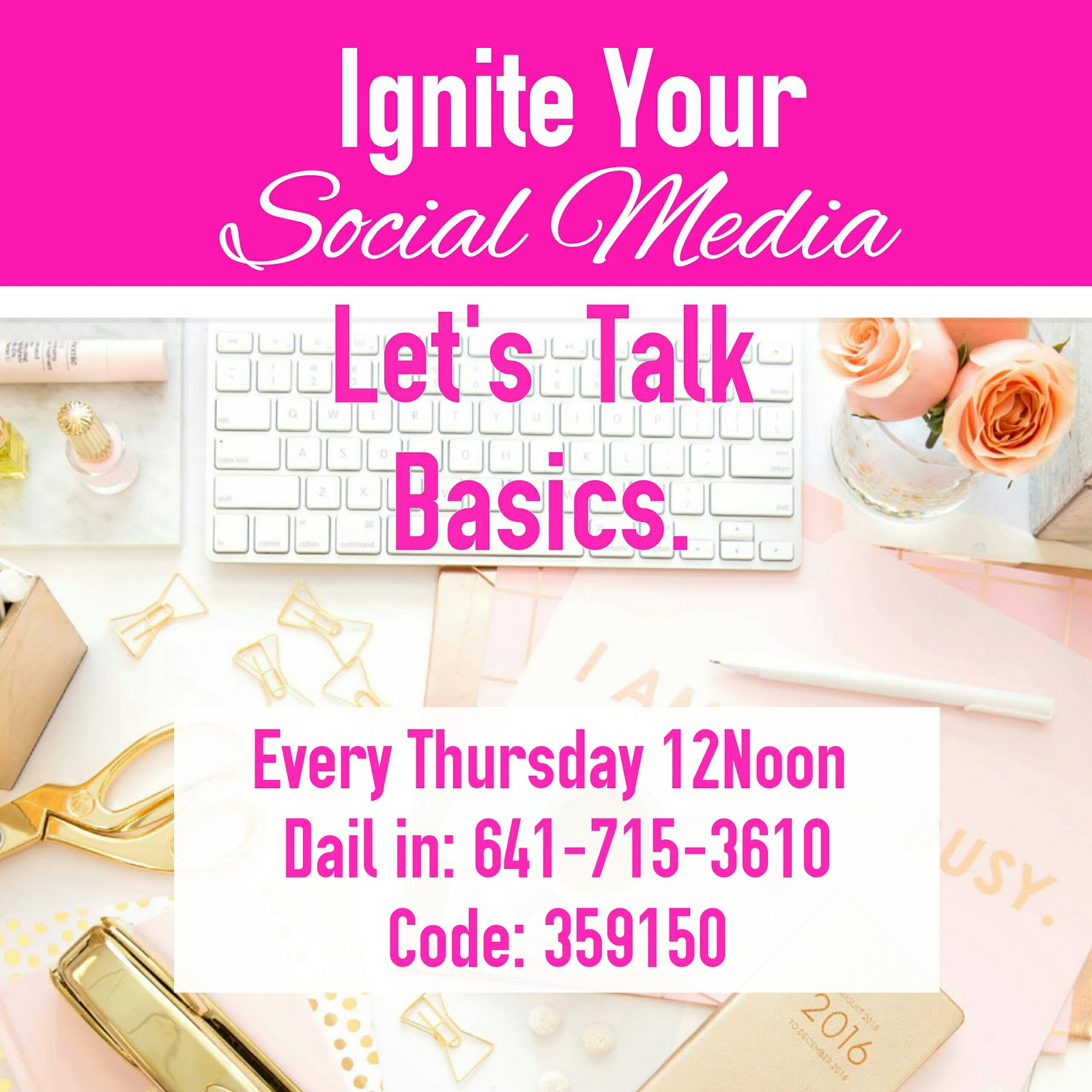 IGNITE YOUR SOCIAL MEDIA..JOIN THE CALL