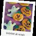 Galletas de Halloween: Calabazas y fantasmas