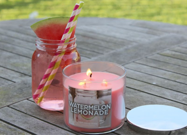 Bath and Body Works Watermelon Lemonade Candle
