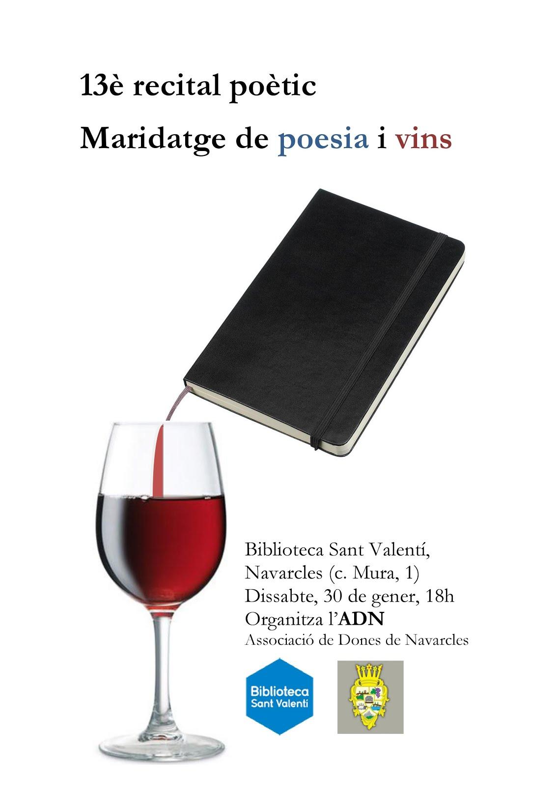 13è recital Maridatge de poesia i vins