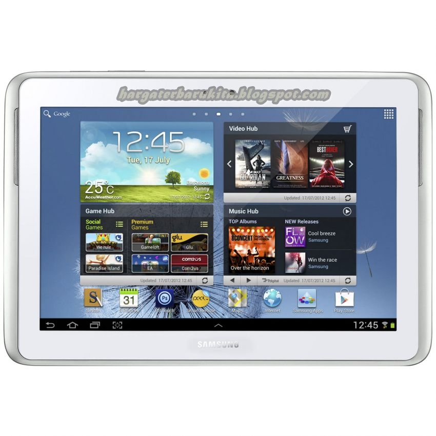 Harga Tablet Samsung Galaxy Note 10.1 Desember 2012